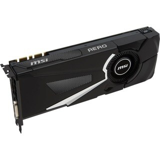 MSI AERO GTX 1080 AERO OC GeForce GTX 1080 Graphic Card - 1.63 GHz Co