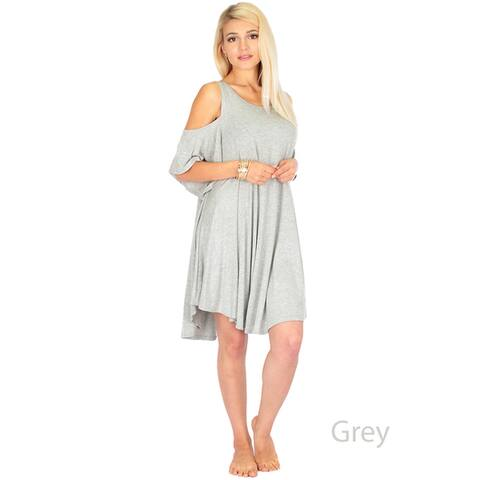 Women's Sun-Kissed-Shoulder Tunic Dress