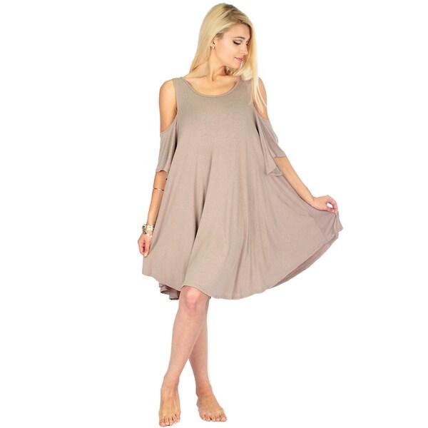 Shop Women S Sun Kissed Shoulder Tunic Dress Free