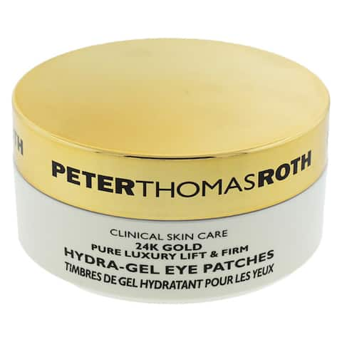 Peter Thomas Roth 24K Gold Pure Luxury Lift & Firm Hydra Gel Eye Patches 60 pc