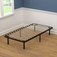 Handy Living Twin Size Wood Slat Bed Frame