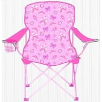 Sizzlin Cool Princess Pink Metal Children Foldable Camping Chair