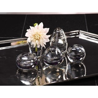 Arabella Glass Vase Smoke (Set of 5)