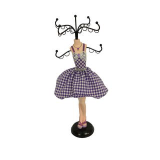 Fashion Collection Jewelry Stands- Purple