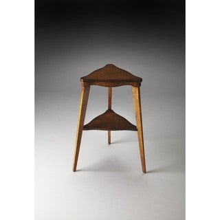 Handmade Butler Kent Brown MDF, Wood Tiered End Table (China)