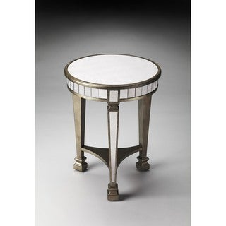 Butler Garbo Mirrored End Table