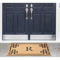 Nourison Elegant Entry Monogrammed Doormat (2' x 3')