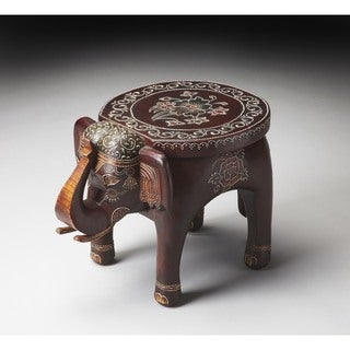 Butler Botswana Hand-painted Accent Table