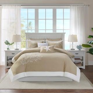 Harbor House Coastline Khaki Cotton Duvet Cover Set
