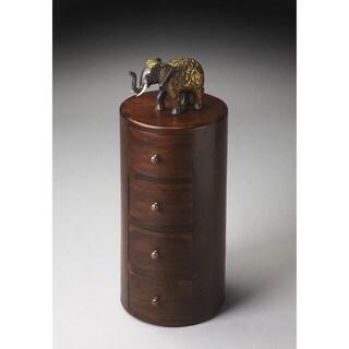 Butler Liam Solid Wood Pedestal Table