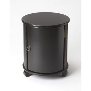 Butler Lawrie Black MDF, Wood Drum Table