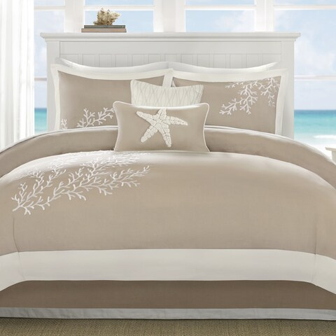 Harbor House Coastline Khaki Cotton Comforter Set