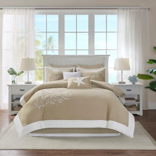 Harbor House Coastline Khaki Cotton Comforter Set