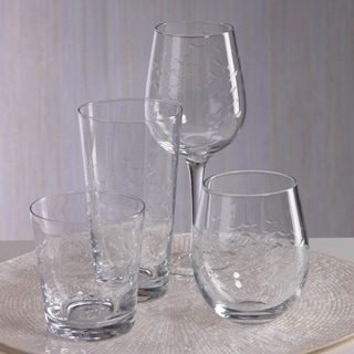 Coral Beach Design Wine Glass (Set of 8)