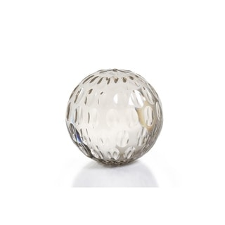 Hand Cut Bubble Glass Decorative Ball - Large