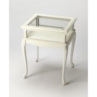 Butler Burton Cottage White Curio Table