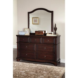 Signature Design by Ashley Brulind Brown Dresser and Mirror