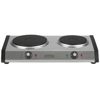 Waring DB60FR Portable Double Burner (Refurbished)