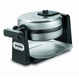 Waring Pro WMK200 Belgian Waffle Maker, Stainless Steel/ Black (Refurbished)