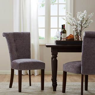 Madison Park Weldon Grey Dining Chair (Set of 2)