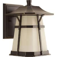 Progress Lighting P5750-2030K9 Derby Bronze Aluminum 8.5-inch 1-light LED Medium Wall Lantern with AC LED Module