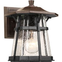 Progress Lighting P5749-84 Derby Brown Aluminum 1-light Small Wall Lantern