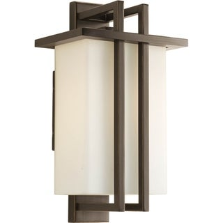 Progress Lighting P5990-20 Dibs Bronze Stainless Steel 8-inch Outdoor One-light Small Wall Lantern