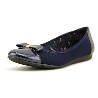 Anne Klein Sport Women's Atalya Blue Fabric Casual Shoes