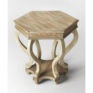 Butler Margaret Driftwood MDF and Wood Accent Table