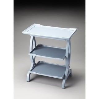 Butler Kimiko Glossy Wedgewood Side Table