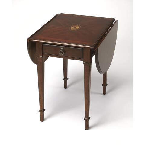 Handmade Butler Glenview Plantation Cherry Pembroke Table