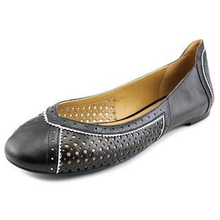 Nine West Women's Accocella Black Leather Casual Shoes