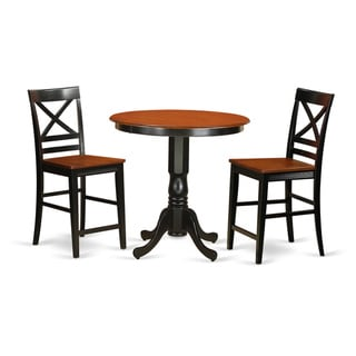 Link to Solid Wood 3-piece Counter-height Dining Set Similar Items in Dining Room & Bar Furniture