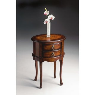 Wonderful Handmade Butler Whitley Plantation Cherry Oval End Table (China)