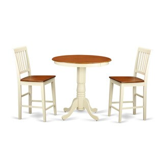 EDVN3-WHI Cream/Off-white Rubberwood 3-piece Pub Table Set Including Table and 2 chairs|https://ak1.ostkcdn.com/images/products/12063846/P18932793.jpg?_ostk_perf_=percv&impolicy=medium