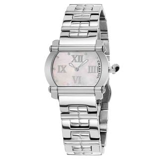 Charriol Women's CCHTS110HTS01 'Actor' Mother of Pearl Dial Stainless Steel Swiss Quartz Watch