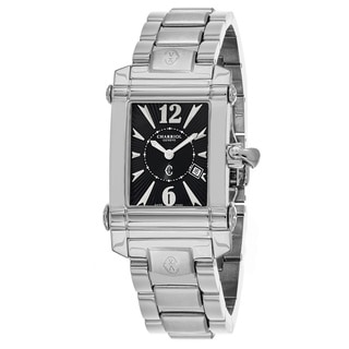 Charriol Women's CCSTRH9202205 'Columbus' Black Dial Stainless Steel Swiss Quartz Watch
