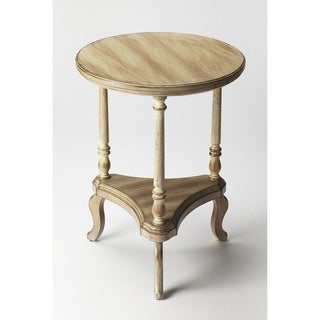 handmade butler petry driftwood end table china