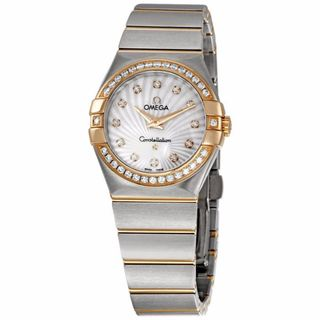 Omega Women's 12325276055002 Constellation Silver MOP Watch