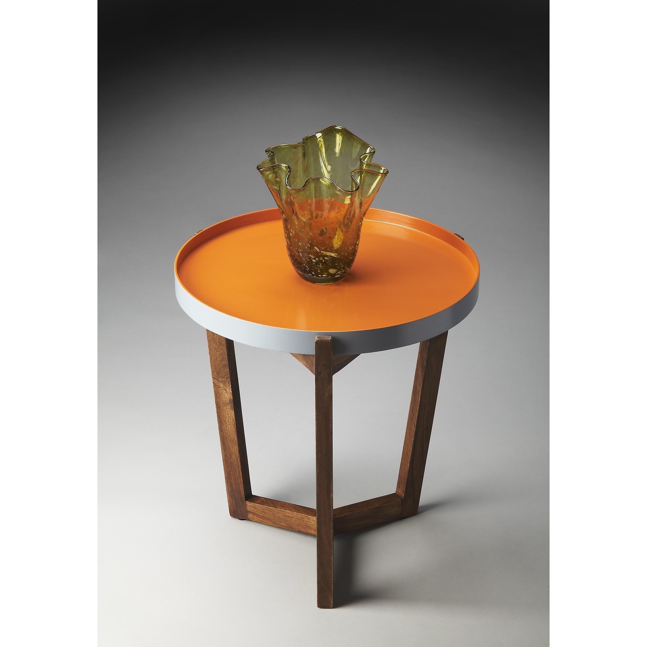 Butler Buter Loft Tray Table (Multi-Color), Brown