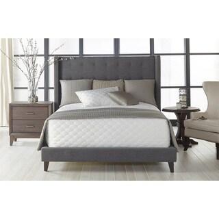 Gray Manor Olivia Grey/Espresso California King Bed