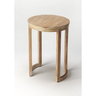 Handmade Butler Chapman Driftwood End Table (China)