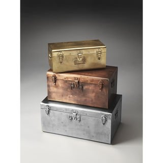Butler Spirit Iron Storage Trunk Set
