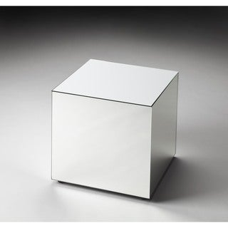 Butler Emerson Mirrored Square Bunching Cube - Clear