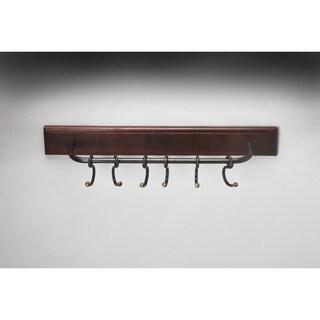 Butler Glendo Iron & Wood Wall Rack