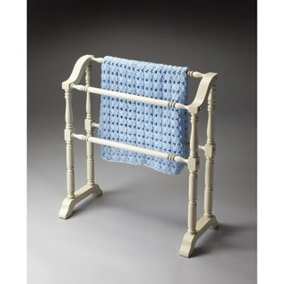 Butler Lillian Cottage White Blanket Rack