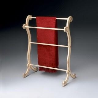 Butler Brittany Parchment Blanket Rack