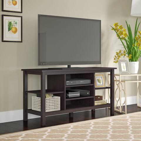 """Copper Grove Rustavi Espresso Oak TV Stand - 47.17""""L x 17.99""""W x 24.80""""H"""