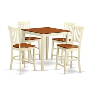 Cream Rubberwood 5-piece Counter Height Pub Dining Set|https://ak1.ostkcdn.com/images/products/12063957/P18932827.jpg?impolicy=medium