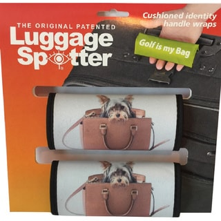 Luggage Spotter Neoprene Love Your Pet Handle Wraps (Set of 2)